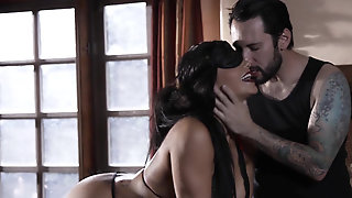 Submissive Slut Romi Rain Pleasing Her Master In Every Way Possible