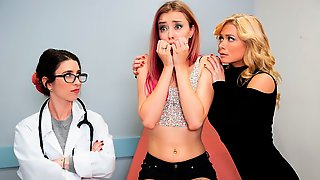 Three Nurses Serena Blair, Haley Reed And Serene Siren Are Fucking In The Ward