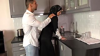 Kitchen Muslim Fuck