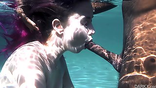 Wet Dreams Of Haley Reed - Blowjob Under Water