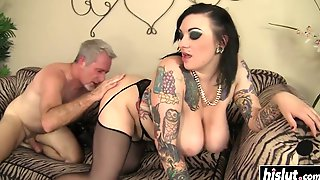 Scarlet Gets Surprised With A Male Pole - Scarlet Lavey