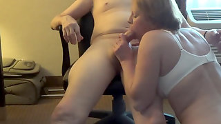 Girl Sucks After Assfuck