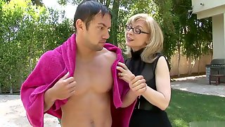Cougar Nina Hartley Is Out On The Prowl, And Have Hard Sex