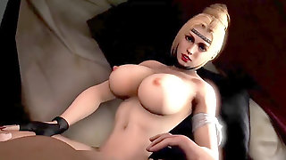 Yam-sized Boobies 3d Blonde Babe Fucked In This Compilation