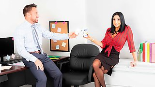 Sweet Glamorous Secretary Audrey Bitoni And Her Lovely Boss