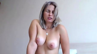 Super HOt Blonde Nice Girl Screaming