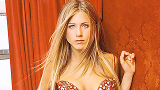 Jennifer Aniston Wank Off Contest