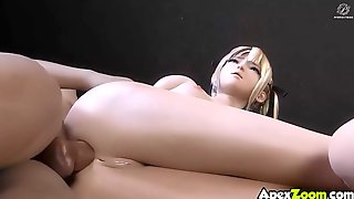 Big Tits 3D Teens Fucked By Players