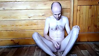 Pissing With Caressing And Stroking My Penis