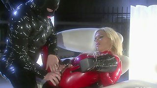 Costumed Shyla Stylez In Latex Enjoys Sex Games Until She Cum