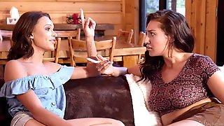 Emma Hix And Bella Roland Lesbian Scene