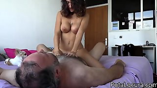 Analia Pilladas Rides Thick Cock Of Ugly Daddy