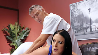 Angela White Getting Fucked By A Dirty Masseur