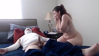 Amateur MILF Nurse Riding Cock