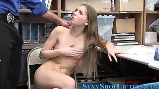 Caught Teen Sucks Dick And Fucks