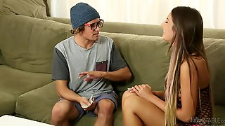 August Ames & Tyler Nixon - Geeky Gamer