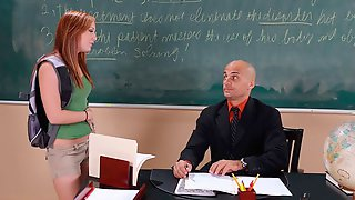 Dani Jensen Fucking In The Classroom With Her Piercings