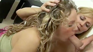 Mommy Instructing Innocent Teen All About Hook-up