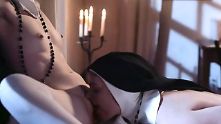 Sinful Nuns Are Ready To Taste Some Lesbian Sex