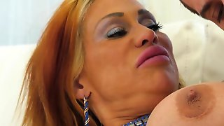 Buddy Satisfies All Dirty Needs Of Fantastic Latina Granny