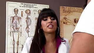 A Sexy Doctor Is Getting Fucked During The Exam That She Is Giving