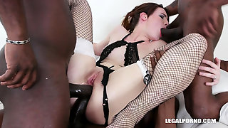 Amanda Hill Interracial Double Anal Penetration