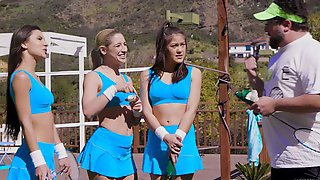 Dirty Lesbian 3some With Abella Danger, Milana Ricci And Kendra Spade
