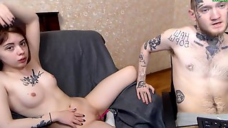 Russian Young Couple Webcam Porn Video