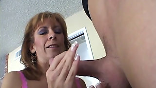 Mikela Kennedy Gets Drilled On The Dining Table