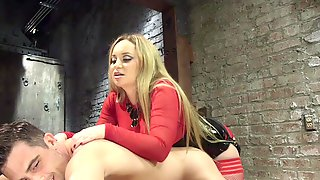 Blonde Aiden Starr Wants To Punish Her Lover With BDSM Sex Game