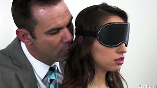 Blindfolded, Tied And Shagged Hard