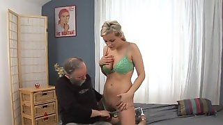 Tara Nice Gets Titty Fucked By A Grandpa