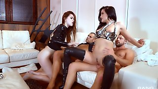 Redhead, Leather, Dogging, Domination, Riding