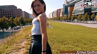 German Girl Next Door Teen Public Pick Up Blind Date