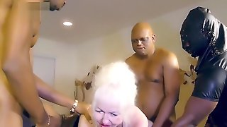 Anyone Knows Her Name? Granny Milk Bbc Black