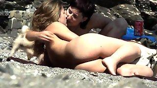 Hidden Cam In Beach Cabin 4