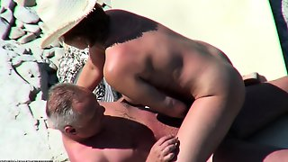 Hidden Video Of French Woman Fucking On Beach