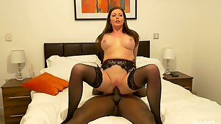 Seductive Wife Enjoys Black Inches When Hubby Is Not Home