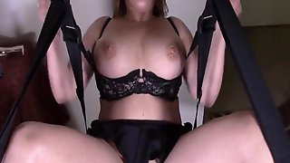 Kate Fawcett Humping Her Machine At Home