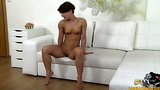 Amateur Slut Sasha With Small Tits Tries Out A Career In Porn