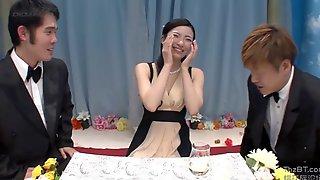 Nail A Japanese Wedding Guest - Teen Gangbang