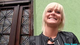 Naughty Blonde Girl Corinne Worder Loves To Have Fun With Strangers
