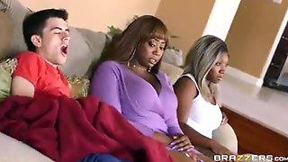 Fat Ebony With An Inexperienced Lover