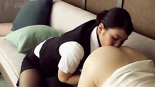 Honjo Suzu Stewardess