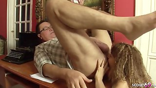 Skinny 18yo Hooker In Old And Young Sex Action With Ass Licking -1080p