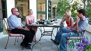 My Girlfriends Mother Julia Ann - Busty Blonde MILF Cheating