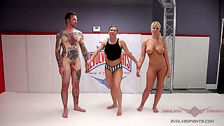 Amateur Fighter Darcie Belle Loses In A Match And Gets Fucked