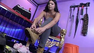 Jasmine Mendez Tiny Son Sock And Slipper Smother