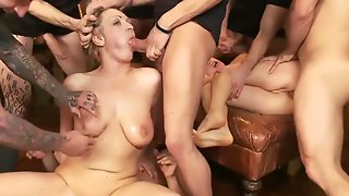 GangBang For Andrea & Vicky