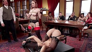Bondage Experience And A Group Fuck Is Memorable With Bella Rossi